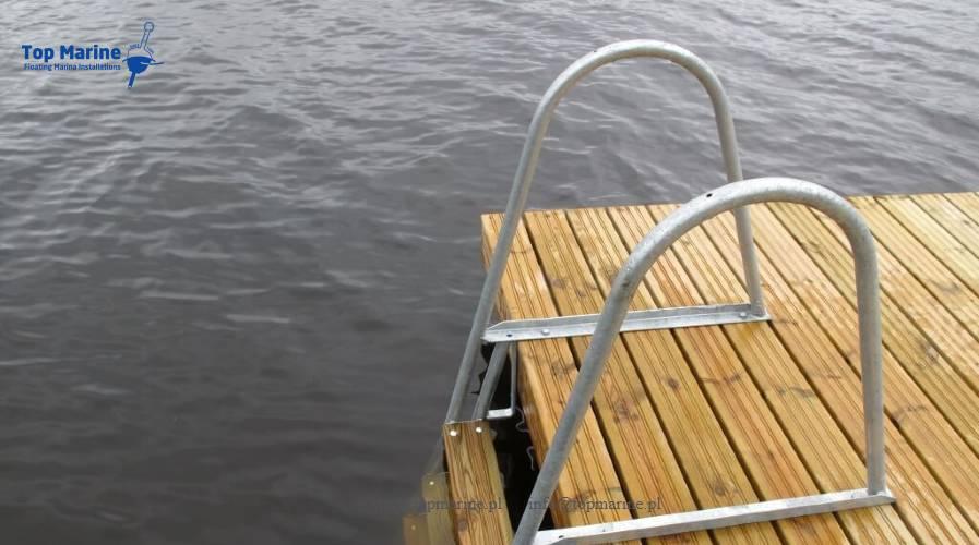 Drabinka do kąpielowa, Top Marine, info@topmarine.pl, www.topmarine.pl