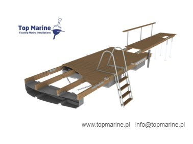 Pontony pływackie, Top Marine, info@topmarine.pl, www.topmarine.pl